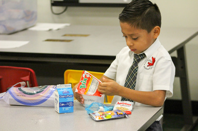 Image of a Pegasus student enjoying a nutritious breakfast at school.